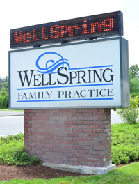 WellSpring Family Practice Sign